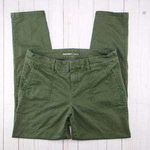 Old Navy Pixie Pants Olive Green